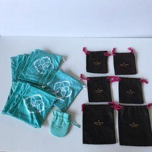 Kate Spade Kendra Scott Tiffanys Lot of 21 Bags